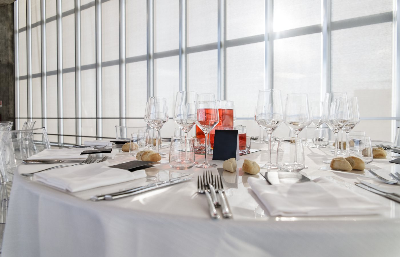 galleries with classic equipment for banqueting and catering